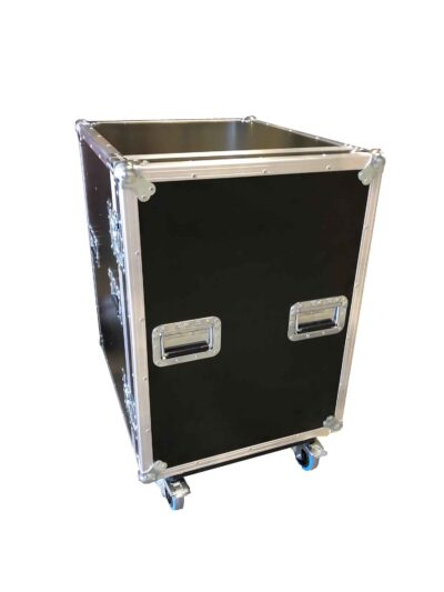 aw racq easy slide 80cm flightcase front closed