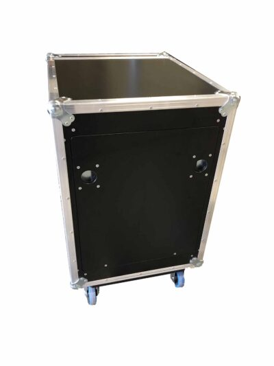 aw racq easy slide 80cm flightcase rear closed