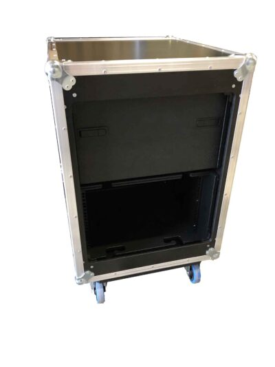 aw racq easy slide 80cm flightcase rear open