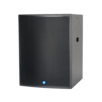 renkus-heinz tx118s and ta118sa speaker black left side view