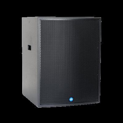 renkus-heinz tx118s and ta118sa speaker black right side view