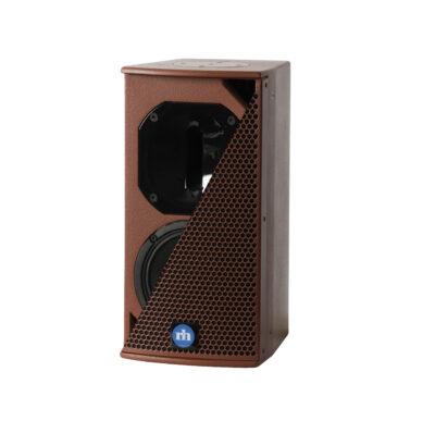 renkus-heinz tx61 and ta61a speaker red with split grill