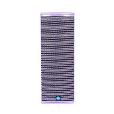 renkus-heinz tx82 and ta82a speaker purple front view