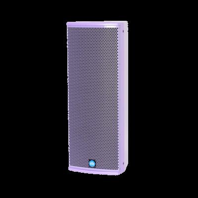 renkus-heinz tx82 and ta82a speaker purple left side view