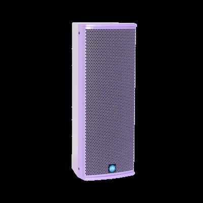 renkus-heinz tx82 and ta82a speaker purple right side view