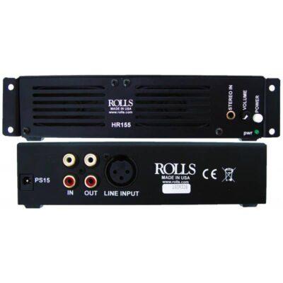 Rolls-HR155-Rack-Mount-Monitor-Speaker