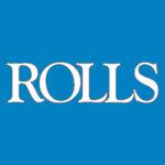 Rolls Logo Blue White
