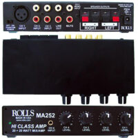 Rolls-MA252-Mixer-Amp