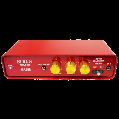 Rolls-MA258-Amplifier-Front