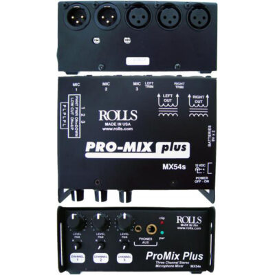 Rolls-MX54s-Mini-Mixer