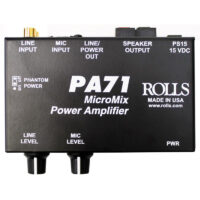 Rolls-PA71-Mini-Mixer-Amp