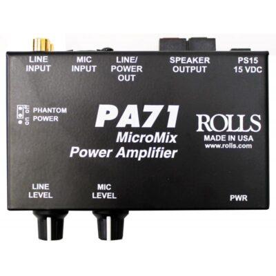 Rolls-PA71-Mini-Mixer-Amp