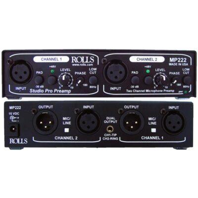 Rolls_MP222-Mic-Preamp
