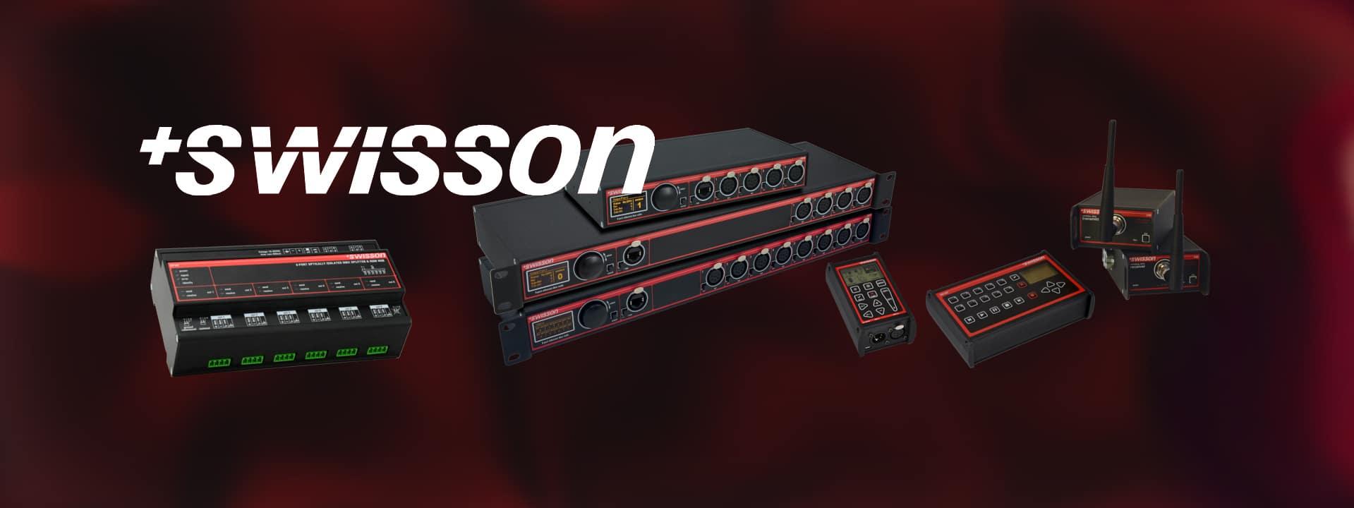 Swisson WDMX CRMX DMX splitter slider